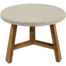 Aria Textured Side Table