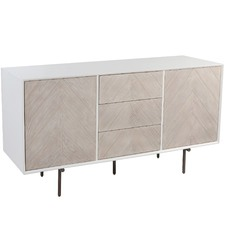 White Washed 2 Door Fox & Ivy Buffet