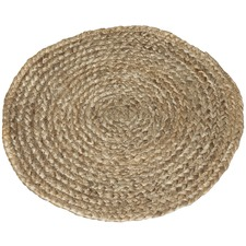 Natural Cindy Braided Jute Placemats (Set of 4)