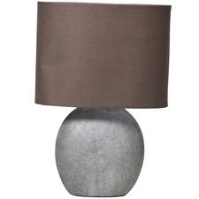 Medium Swirl Ceramic Lamp