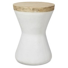 Rounds Hamptons Hourglass Side Table