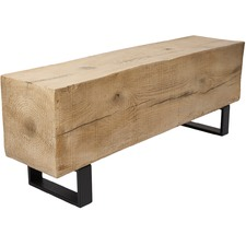 Woodland Trunk Bench