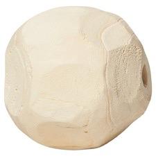 Large Bleached Chimahi Paulownia Wood Ball