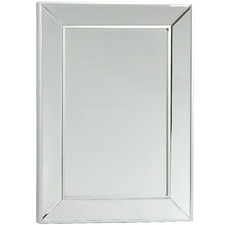 Silver Mayfair Classic Rectangular Wall Mirror