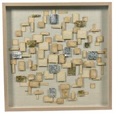 90cm Luxe Geometric Paper Wall Art