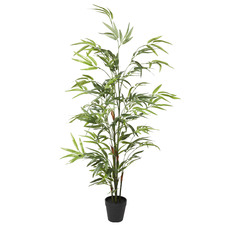 Potted Faux Bamboo Tree