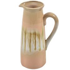 Pink Primrose Glazed Ceramic Vase