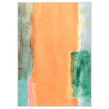 Sunshine Abstract Framed Canvas Wall Art