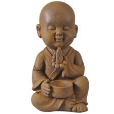 Rust Banyu Praying Buddha Statue