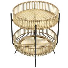 Skye Bamboo 2 Tier Side Table