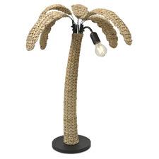 Palm Oasis 2 Light Iron Floor Lamp