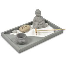 Grey Cement Zen Garden