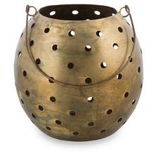 Round Iron Tealight Holder