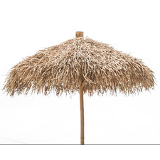 2m Bamboo Umbrella with Stand