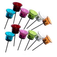 12 Piece Spike Tealight Holder Set