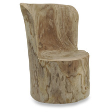 Natural Paulownia Wood Chair