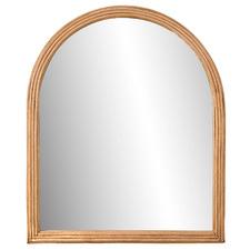 Cason Bamboo Arch Wall Mirror