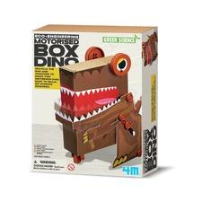 Green Science Motorised Dino Box