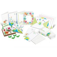 Kid's Green Creativity Pressed Flower Art Kit