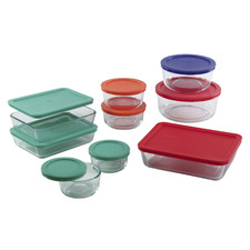 18 Piece Multi-Coloured Simply Store Food Container Set