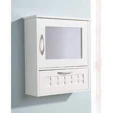 Dorset Basket Weave Mirror Unit