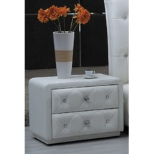 Crystal Bedside Table