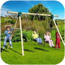 Gibbon 4 Piece Swing Set