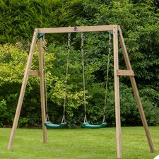 4 Piece Double Swing Set