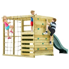 Children's Climbing Cube & Slide