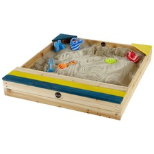 Sand Pit with Storage