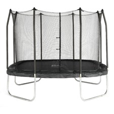 11ft Square Spring Safe Trampoline