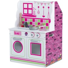 2 in 1 Mini Doll's House & Kitchen