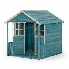 Teal Plum Deckhouse Wooden Playhouse