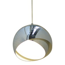 Armet Polished Pendant Light