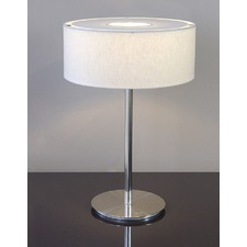Ola Table Lamp -White Linen