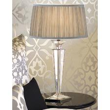 Porter Rhodes Table Lamp - Shimmer Grey