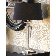 Porter Rhodes Table Lamp - Black Linen