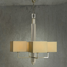 Paragon 4 Light Chandelier - Soft Clay