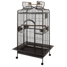 91.44cm Bird Curved Open Top Parrot Cage