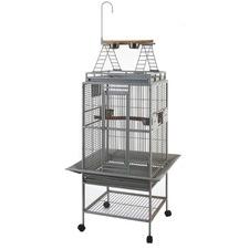 Bird Parrot Cage Ladder Top