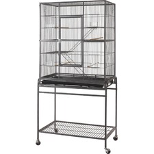 76cm Deluxe Rat/Ferret/Bird Cage with Stand