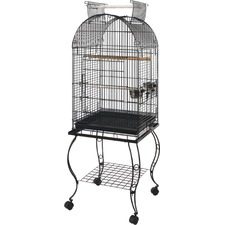 51cm Parrot Cage with Stand