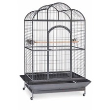 Silverado Dome Parrot Cage in Black Vein