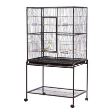 Deluxe Bird Flight Cage with Stand