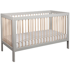 2 Tone Lukas Birch Wood Cot
