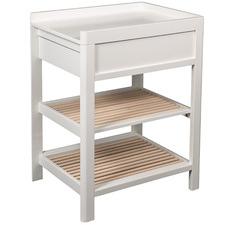 2 Tone Lukas Birch Wood Baby Change Table