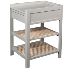 2 Tone Lukas Birch Wood Baby Change Table