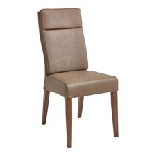 Madrid Modern Full Leather Dining Chair