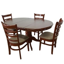 Bennett 4 Seater Extendable Dining Table Set