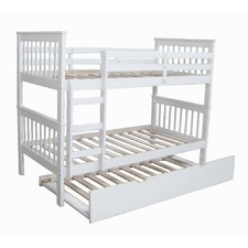 Donatello Timber Trundle Bunk Bed